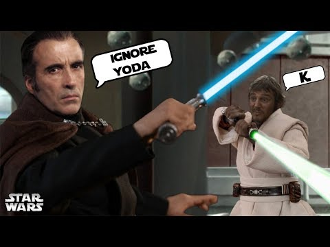 Why Dooku Taught Qui-Gon to REJECT Yoda and USE Fear [canon]