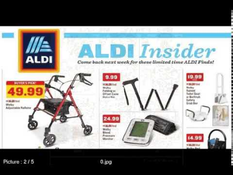 Aldi Insider Weekly Ads 1 7 To 1 13 2018 Big Sales Youtube
