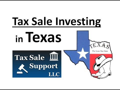 Texas Tax Sale investing - Online tax sale lists and struck off property