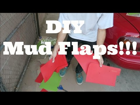 Project Baja Miata – Episode Five – DIY Mud Flaps