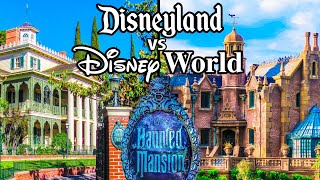Top Disney World vs Disneyland Rides Pt4 - Liberty Square & Main Street