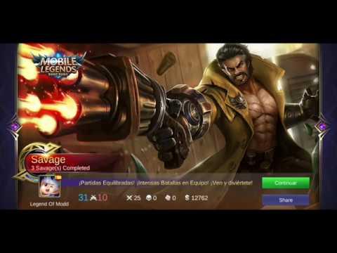 Mobile Legend Roger Hack/speed/damage/heal/1 hit/gold