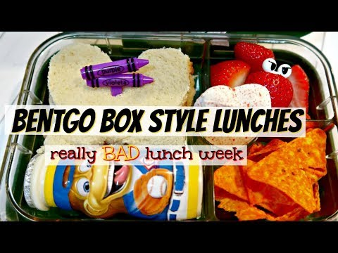 BENTGO BOX STYLE LUNCHES | SCHOOL AND WORK LUNCH IDEAS