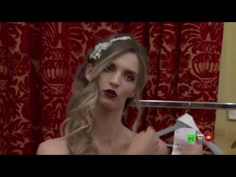 Al St. Regis Roma la nuova collezione Bridal firmata Atelier Curti - il Backstage - www.HTO.tv