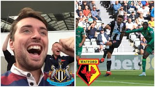 Gambar cover SCHAR EQUALISER! NEWCASTLE 1-1 WATFORD