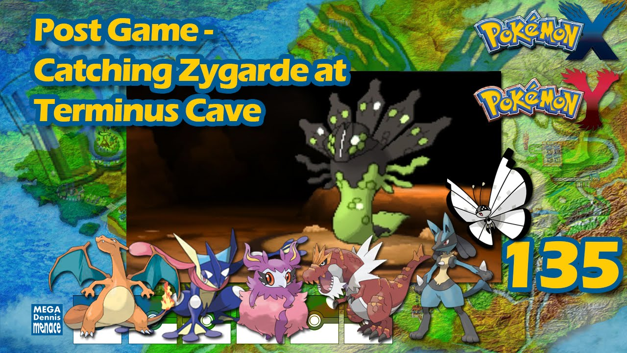pokemon x and y how to get to terminus cave