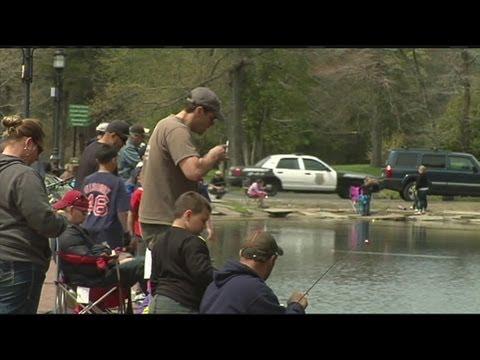Free fishing weekend in Massachusetts