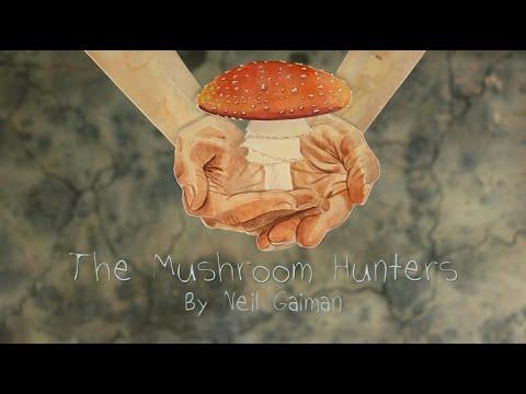 "Watch a Hand-Drawn Animation of Neil Gaiman's Poem ""The Mushroom Hunters,"" Narrated by Amanda Palmer"