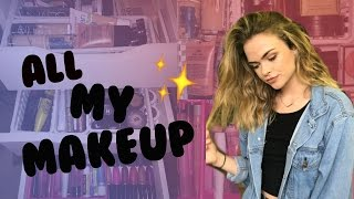 MAKEUP COLLECTION of a 17 year old | Summer Mckeen