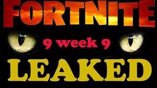 Fortnite Season 9 week 9 challenges guide leaked - how to complete all season 9 week 9 challenges