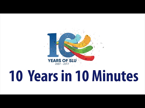 SLU - 10 Years in 10 minutes - A Journey towards Reconciliation