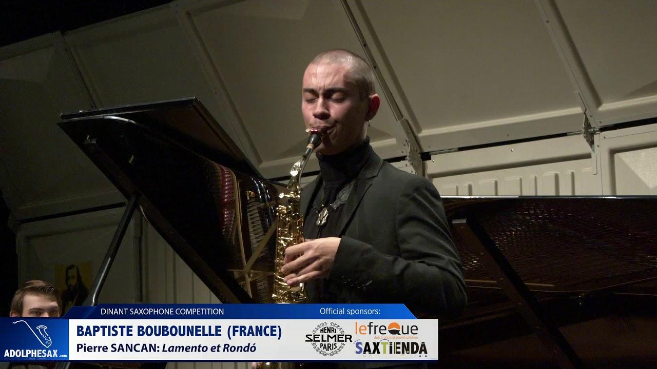 Baptiste Boubounelle France   Lamento et Rondó by Pierre Sancan