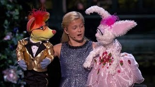 America's Got Talent 2017 Darci Lynne Finals Full Clip S12E23