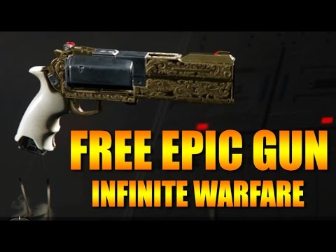 Get A Free Epic Weapon Hailstorm Thunder Call Of Duty Infinite
