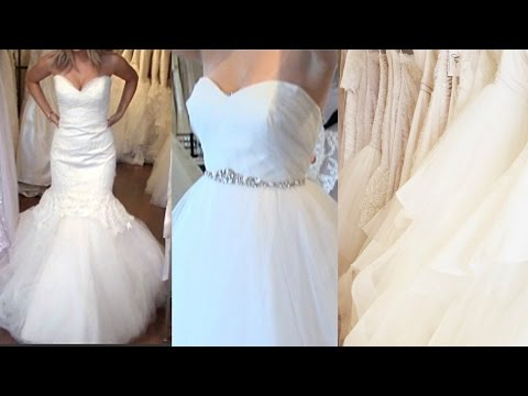Come WEDDING DRESS SHOPPING With Me!  + My Tips/Experience
