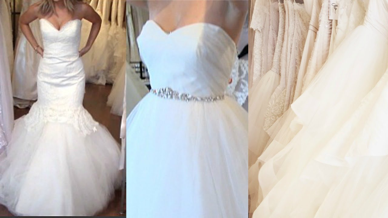Come WEDDING DRESS SHOPPING With Me! + My Tips/Experience - YouTube