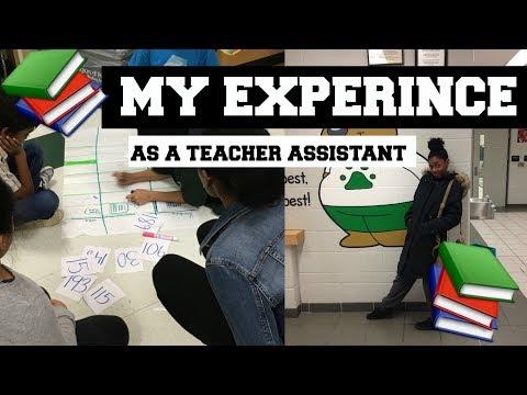 MY EXPERIENCE AS A TEACHER ASSISTANT