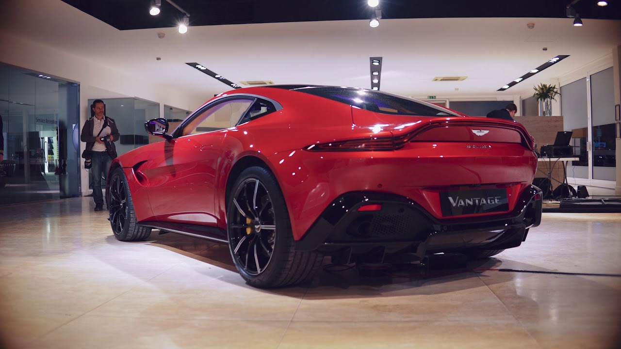 Aston Martin New Vantage 2018 Launch Video And Engine Revving Sound