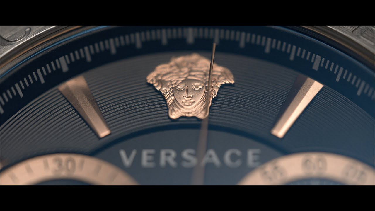 Versace Aion Watch - Product Cinematography