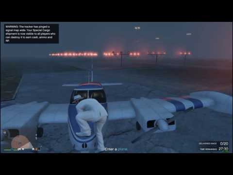 GTA Online Special Cargo Delivery Bug: Unable To Drop Cargo From Plane