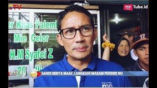 Langkahi Makam Pendiri NU, Sandiaga Akhirnya Minta Maaf - BIP 14/11