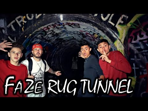 HAUNTED FAZE RUG TUNNEL AT 3 AM CHALLENGE! *THE END* (ft.Oma