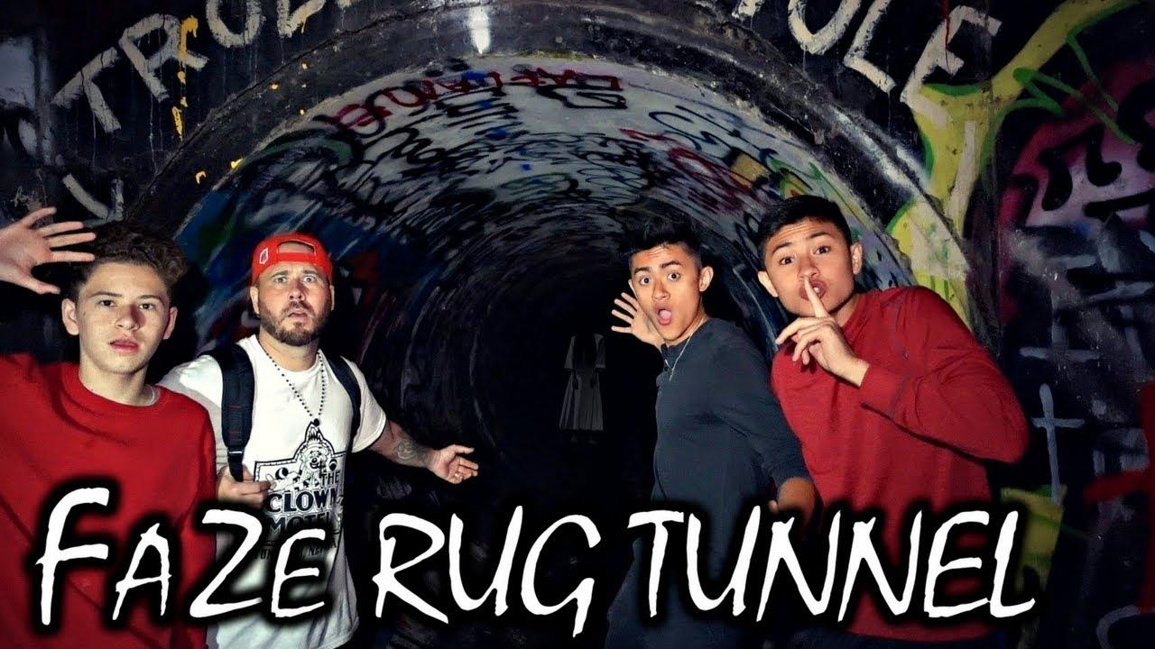 HAUNTED FAZE RUG TUNNEL AT 3 AM
