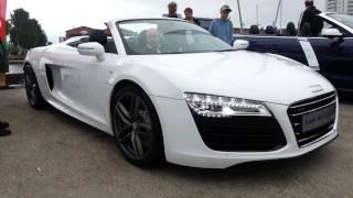 Audi R8 Spyder V10 Revving