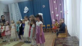 Песня о маме в детском саду