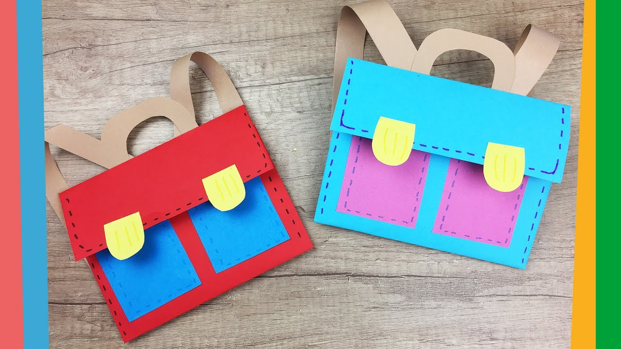 First Day Of School Craft Ideas For Preschoolers