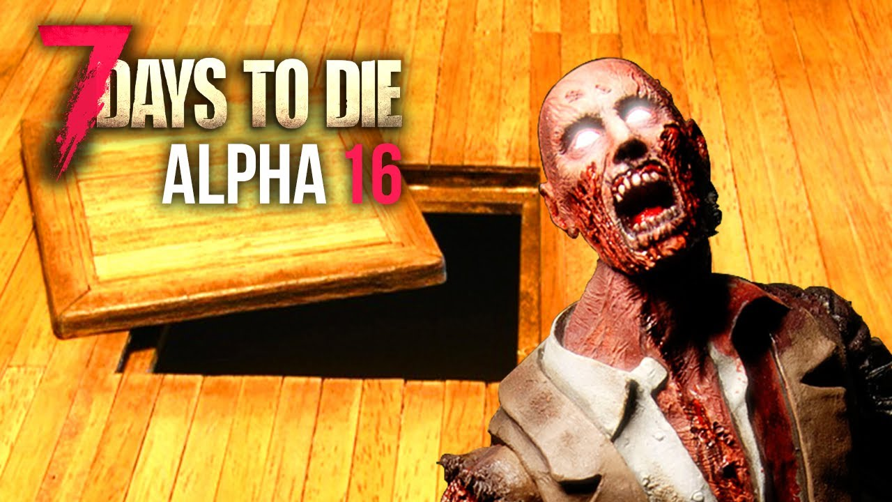 Booby trap floor 7 days to die alpha 16 youtube for Wood floor 7 days to die