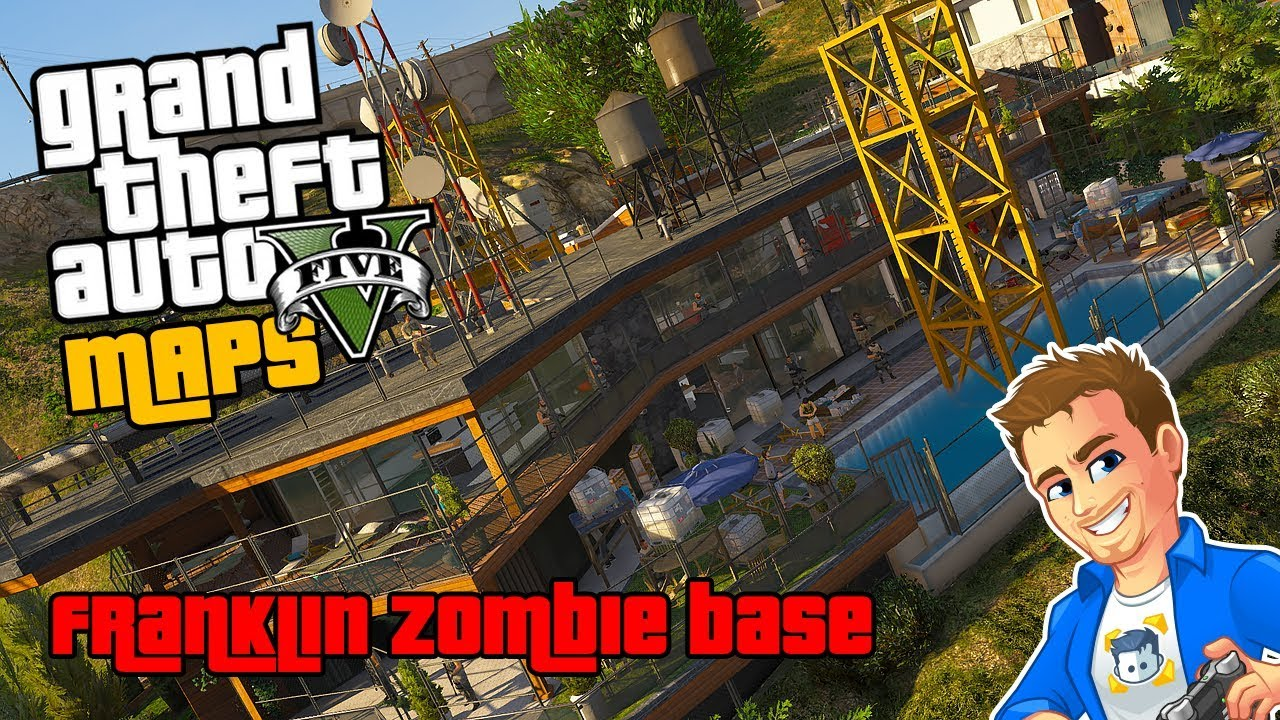 Gta  Menyoo Maps Franklin Zombie Safe House   Custom Maps Gta V Menyoo Mod Pc