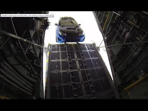 Fast And Furious 7 C-130 Air Drop