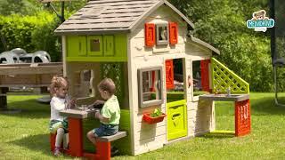 Dětský domeček Přátel Smoby s kuchyňkou a elektron