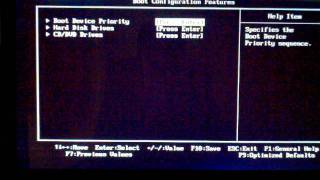 CMOS BIOS Reset & Format / Install Windows 7