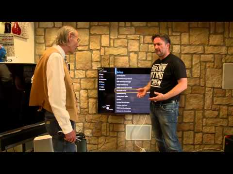 Ausführliche Vorstellung der neuen  PANASONIC Reference TV Serie CXW 804