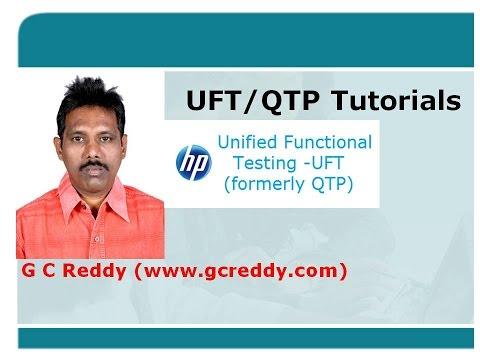 UFT Tutorial 1: Introduction to UFT/QTP