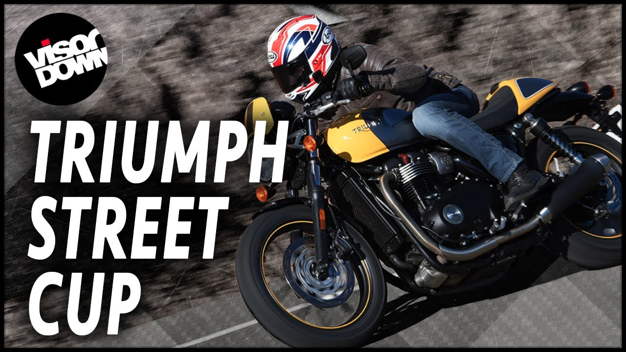 triumph street cup review first ride | visordown motorcycle