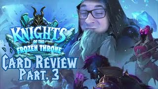 Hearthstone - Knights of the Frozen Throne - Card Review Part. 3 - (German/Deutsch)