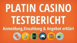 Platin Casino Testbericht: Anmeldung & Einzahlung erklärt [4K]