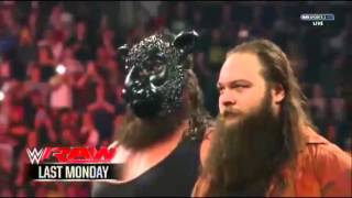 The Brothers of Destruction Vs Wyatt Family WWE Raw November 16 2015