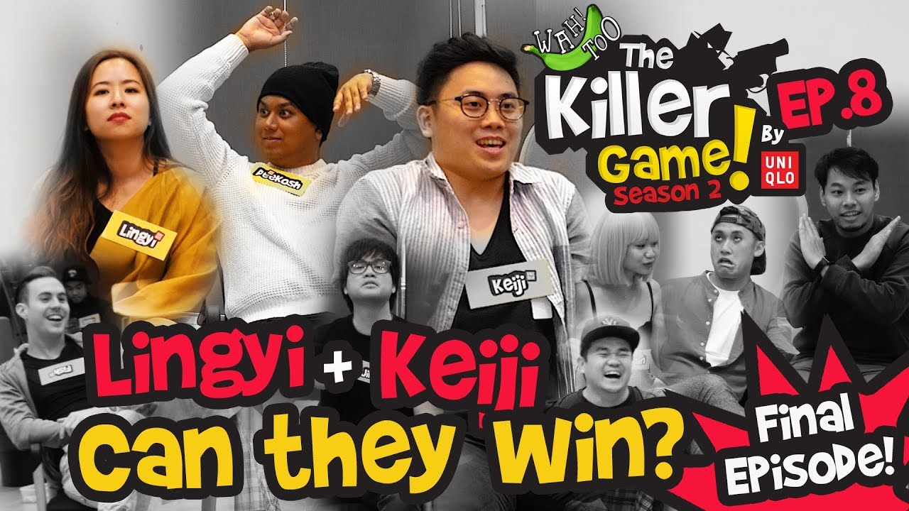 The Killer Game By Uniqlo S2EP8 - Lingyi + Keiji, can they win?