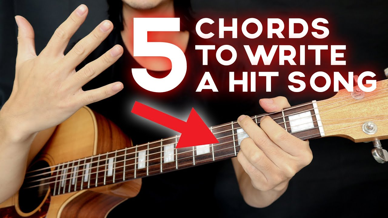 chords write hit song easy guitar chords guitarzerohero youtube