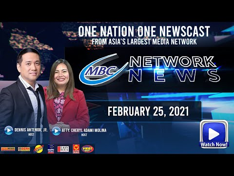 MBC NETWORK NEWS | FEBRUARY 25, 2021