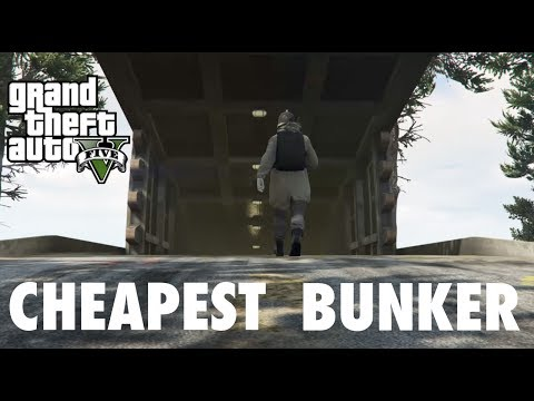 Buying the CHEAPEST bunker! (GTA 5 GUNRUNNING)