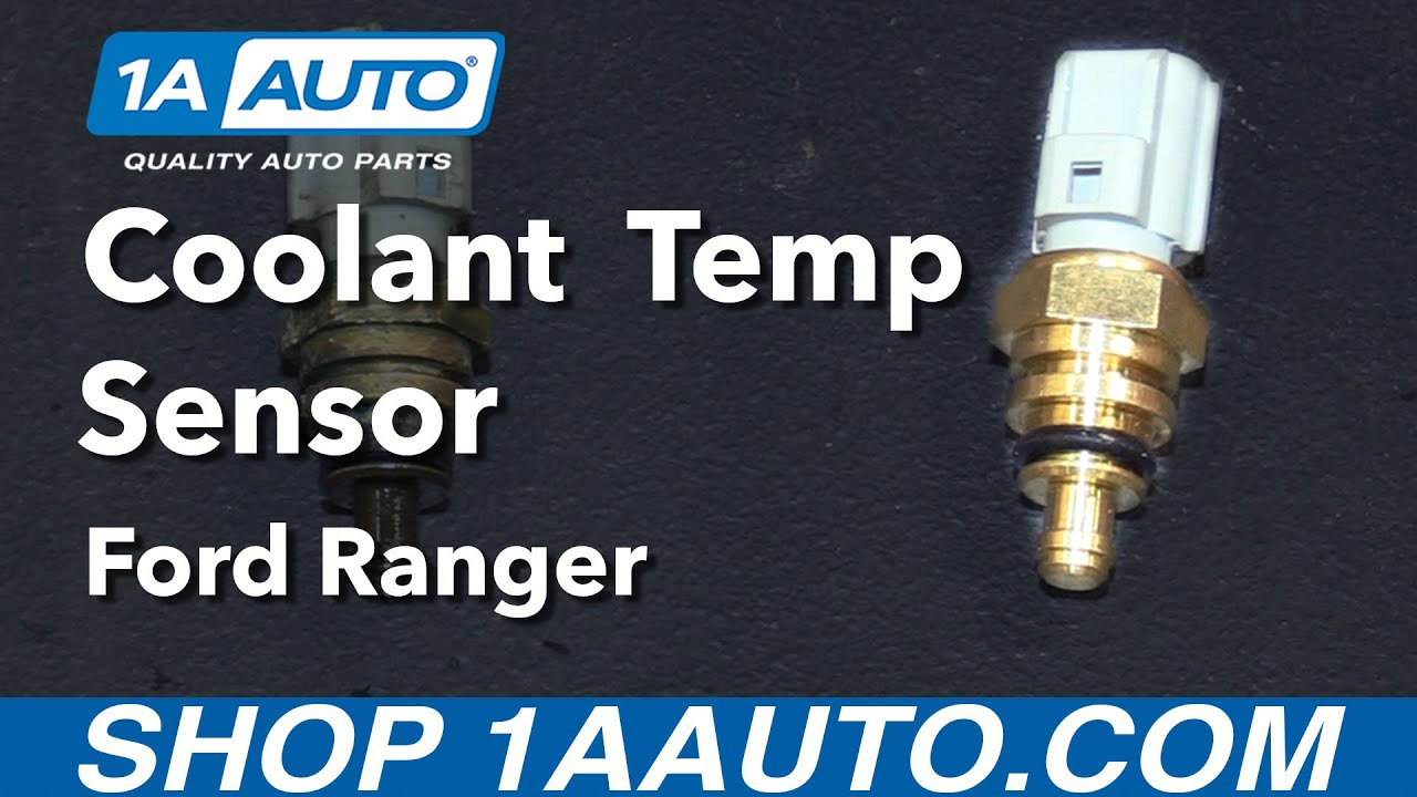 How to install replace coolant temperature sensor 2001 11 ford ranger 4 0l buy parts from 1aauto com youtube