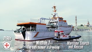 Ship Simulator: Maritime Search and Rescue | Mission 1 | The buoy bumper is drowning