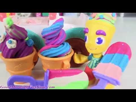 Đồ Chơi Xe  Bán Kem Play-Doh/ Play-Doh Ice Cream Truck ((Goodmorningvietnam))
