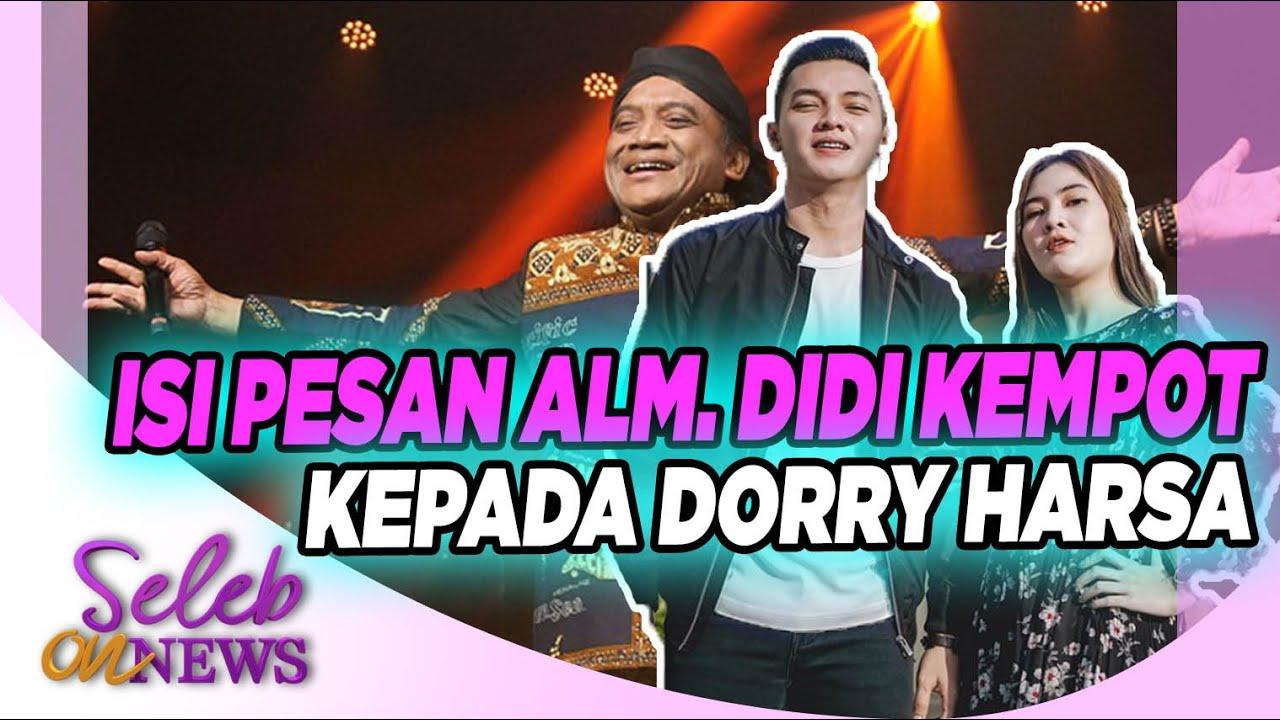 Pesan Alm. Didi Kempot Pada Dorry Harsa dan Nella Kharisma Bikin Kangen Sang Legend – SELEB ON NEWS