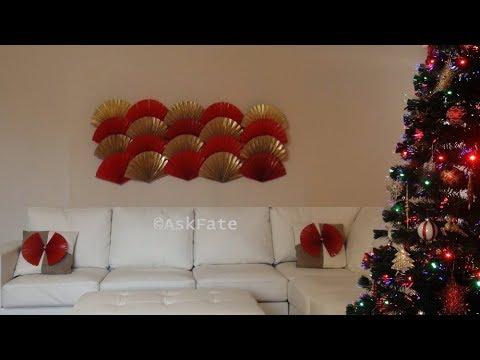 Paper Fan Wall Decor Diy